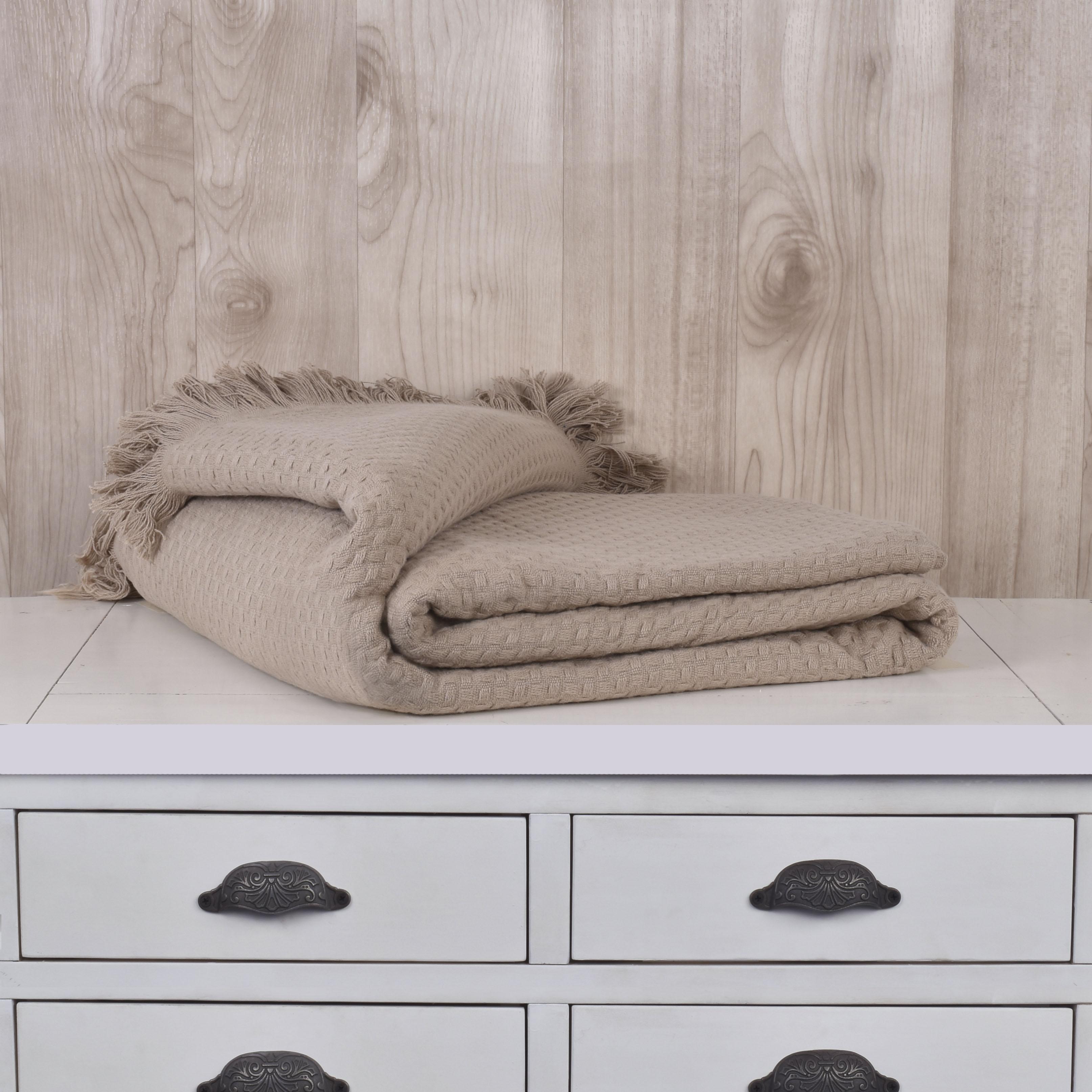 Mantas Cotton / Beige