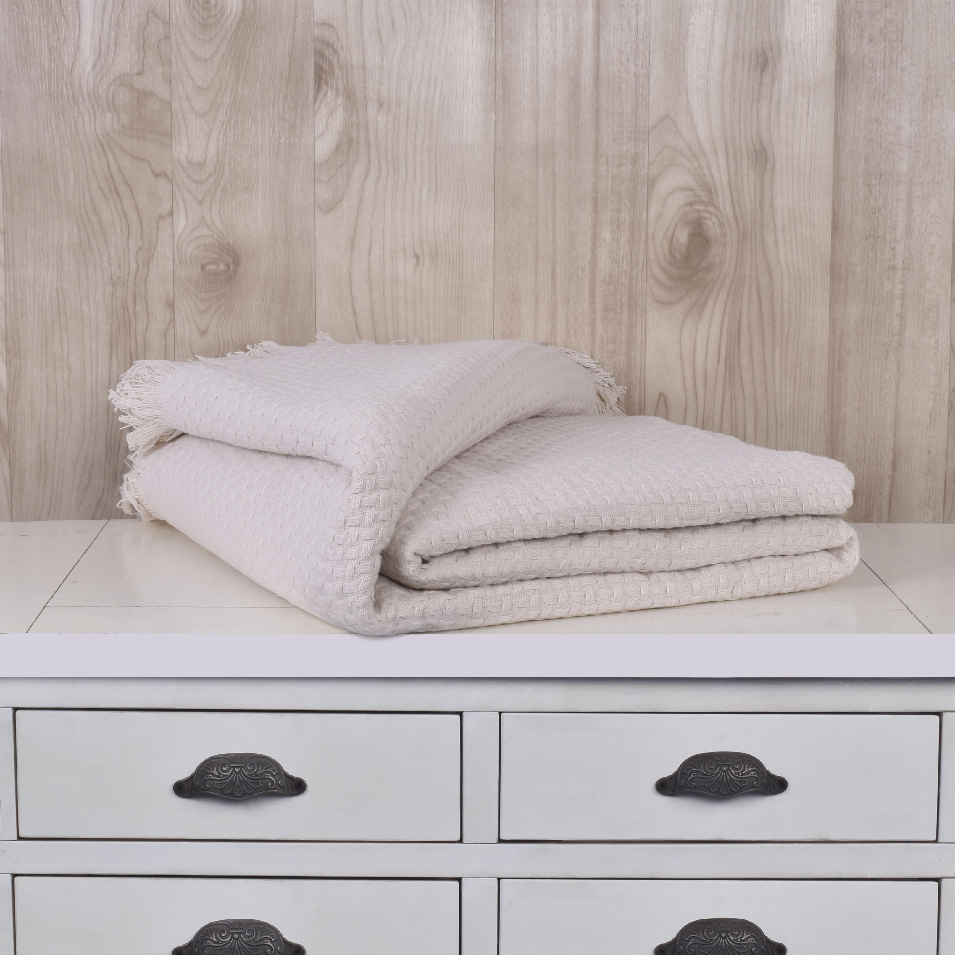 Mantas Cotton / Crudo
