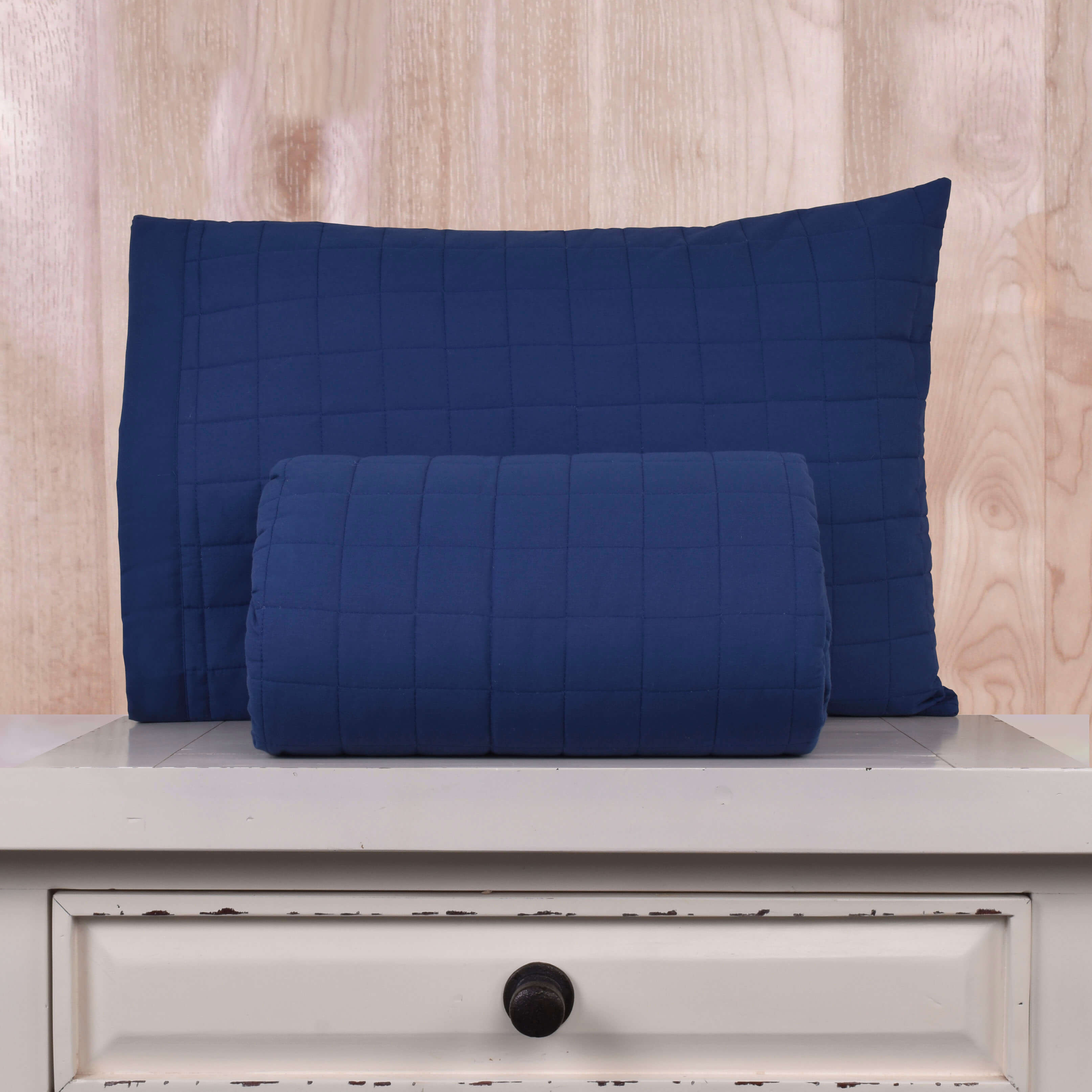 Cubrecama Matelaseado 200 Hilos Basic Colores - Basic Colores / Azul
