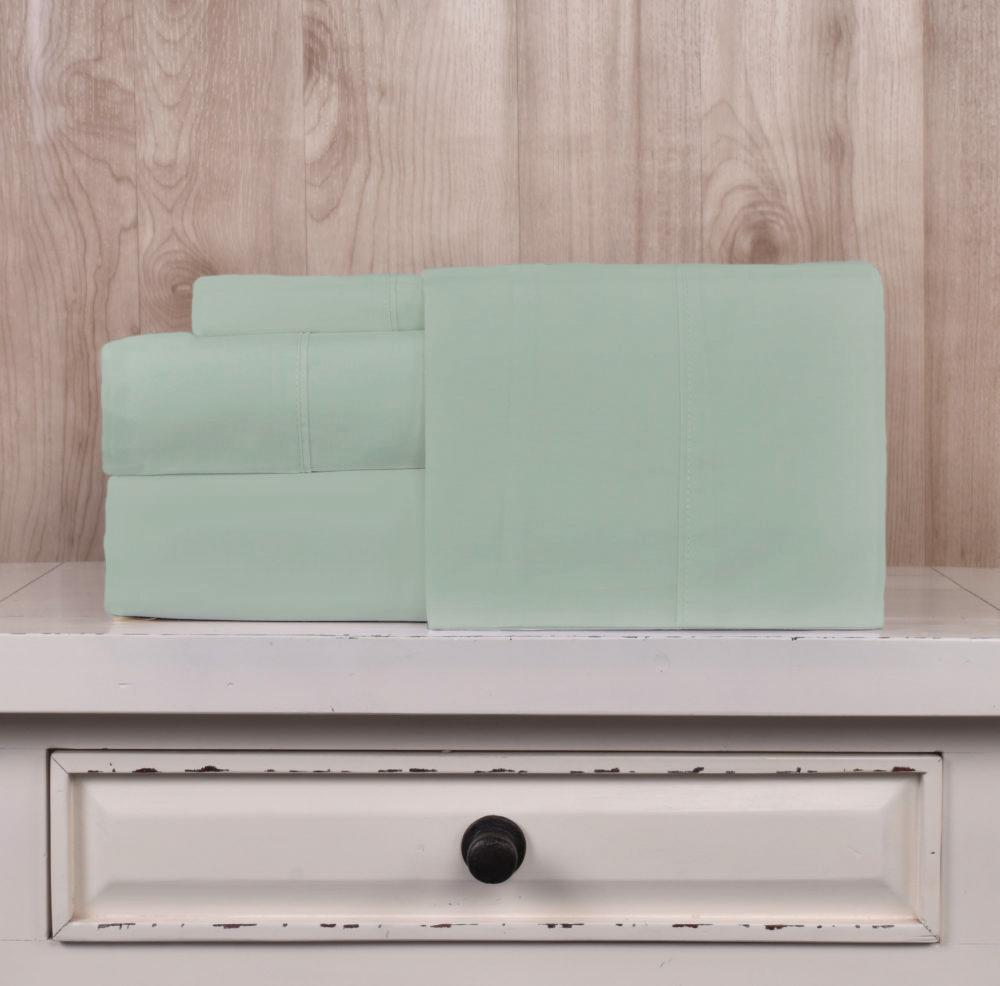 Juego de Sábanas 200 hilos Basic Colores - Basic Colores / Verde (Altura del Colchón: 30 cm)