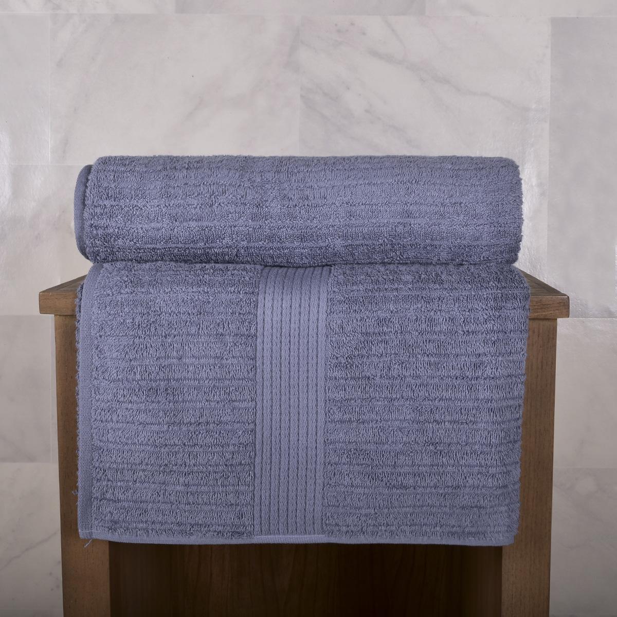 Toallas Hilo Peinado / Azul