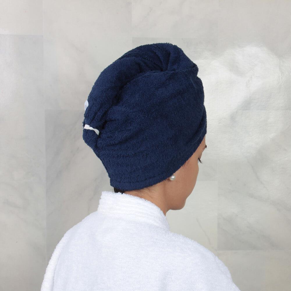 Toalla de Cabello / Azul