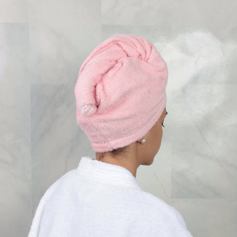 Toalla de Cabello / Rosa