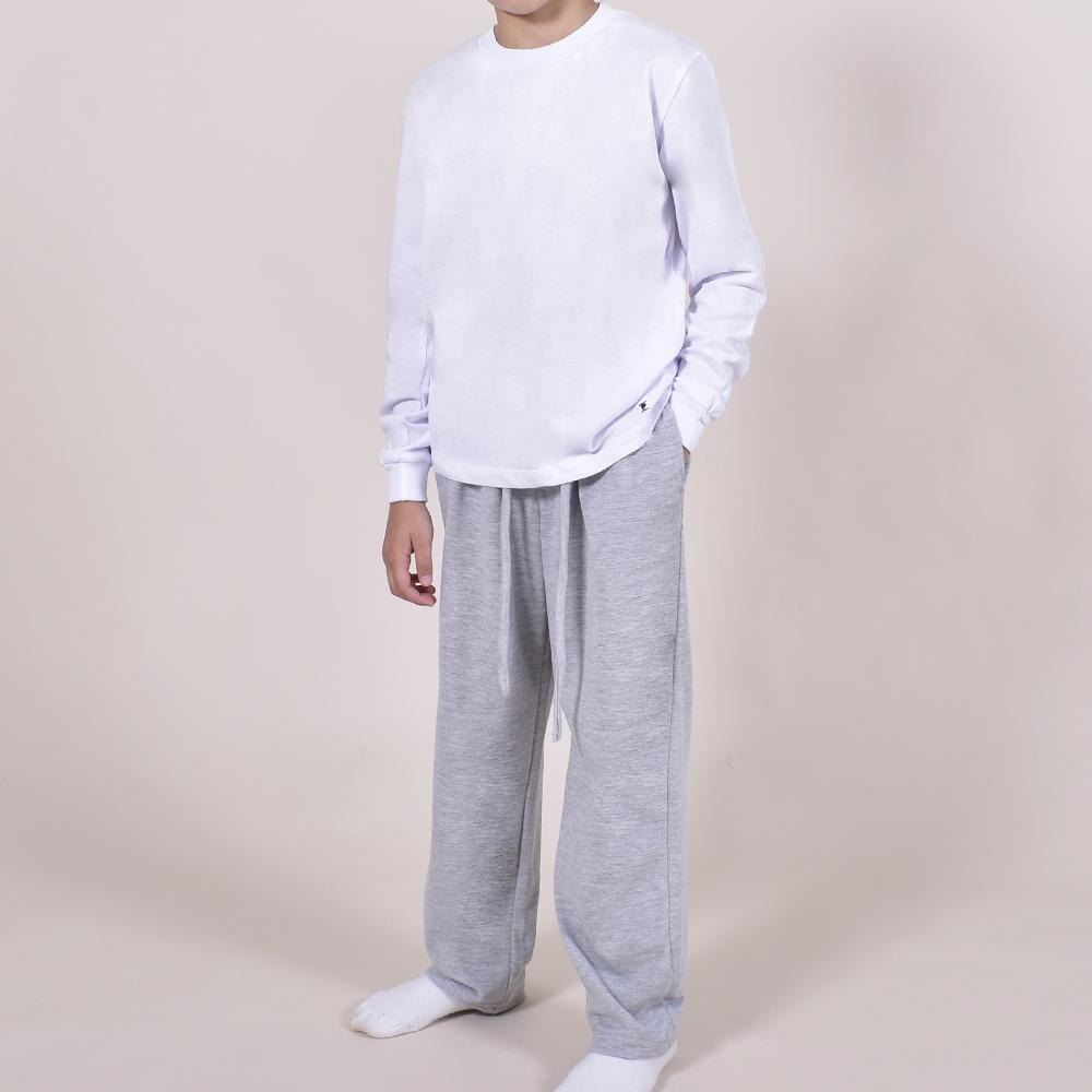 Pijama para nene / Blanco y Gris